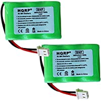 HQRP 2-Pack Battery for Eton / GRUNDIG FR200-BAT, 3-2/3AA-WNMH, FR370, FR400, FR405, FR600, FR600B, FR200, FR200G, FR250, FR300, FR350 Radio, Shortwave, Solarlink + HQRP Coaster