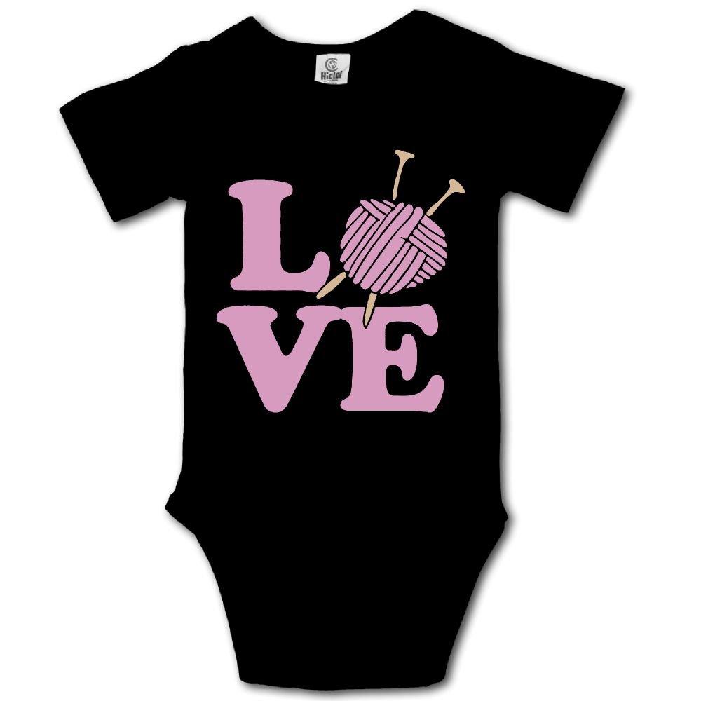 Haibaba Knitting Lover Infant Climbing Short-Sleeve Jumpsuit