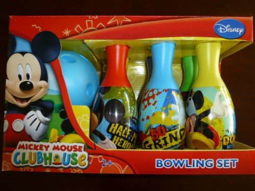 mickey clubhouse bowling set - 4
