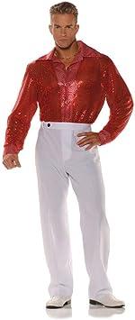 Horror-Shop Camisa roja con lentejuelas One Size: Amazon.es: Juguetes y juegos