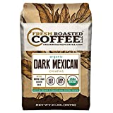 Dark Mexican Chiapas Organic Coffee, Whole Bean, Fresh Roasted Coffee LLC. (2 lb.)