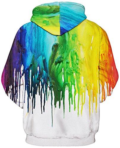 Tdolah Pull Homme 5 Longes Manches À Multicolore Grande Avec Veste Taille Hiver Sweats Hauts Hoodie Capuche Multicolore XHrXw5