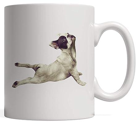 Ceramic Cup,French Bulldog Yoga Gift | Mug for Dog Pet ...