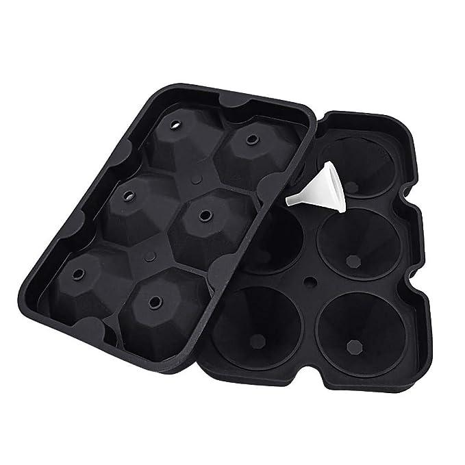 Amazon.com: Bravetoshop Moldes de hielo con forma de ...