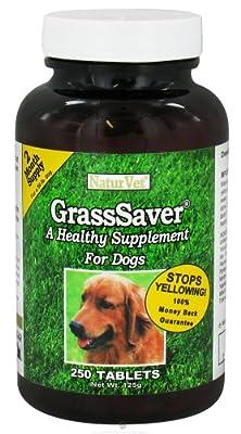 NaturVet GrassSaver Tablets
