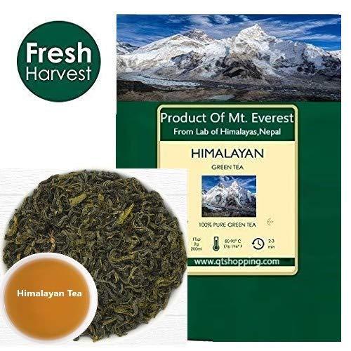 HIMALAYAN, hojas de té verde orgánico de Himalayas, Nepal (3 ...