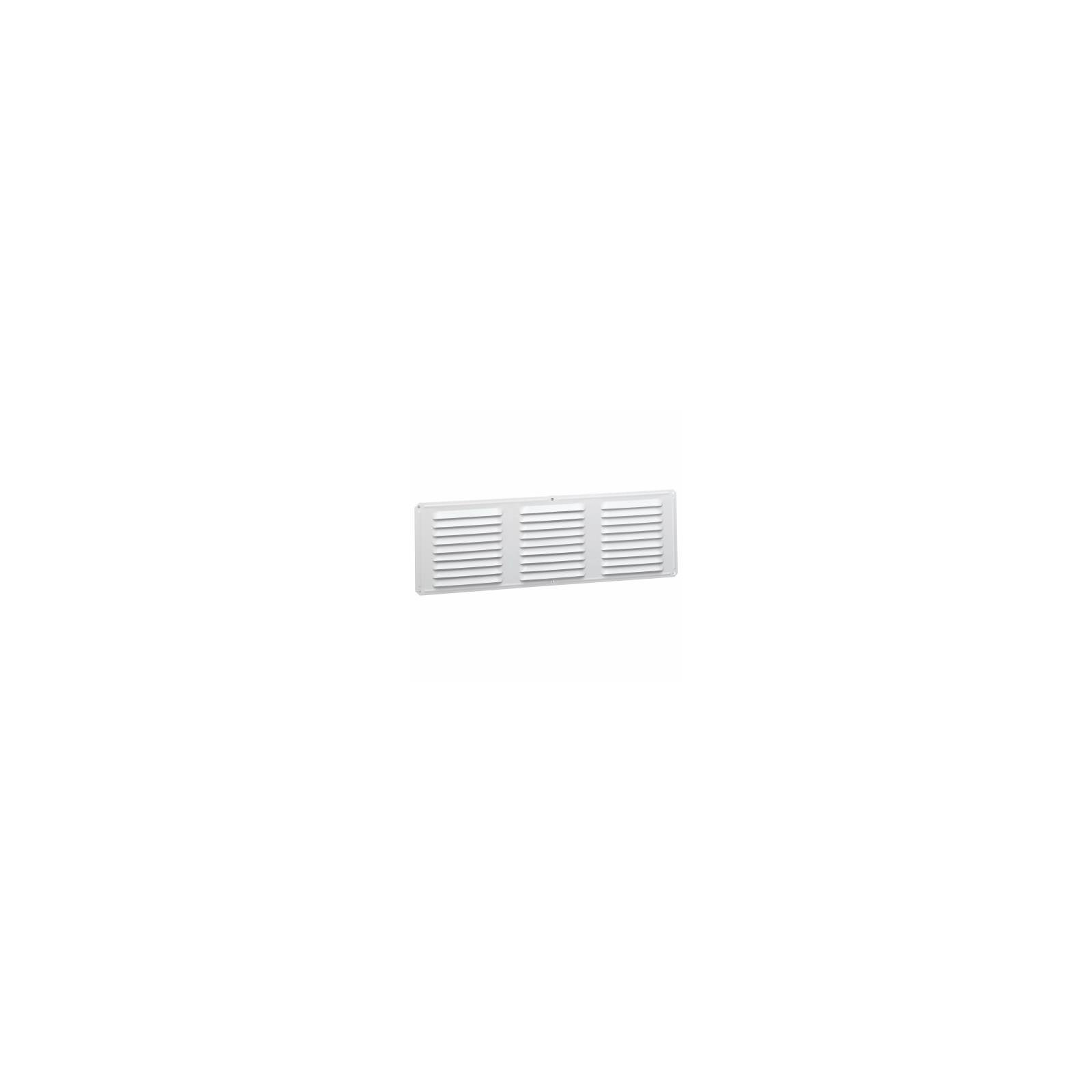 Air Vent Undereave Vent 16'' X 6'' 42 Sq. In. Of Net Free Area Aluminum White