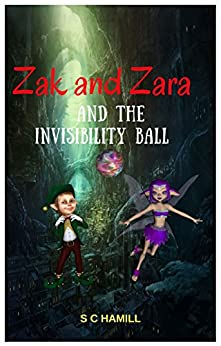 ZAK and ZARA and the INVISIBILITY BALL. A Tale of DOON HILL in Aberfoyle: Children's bedtime reading for ages 4 and above by [Hamill, S C]