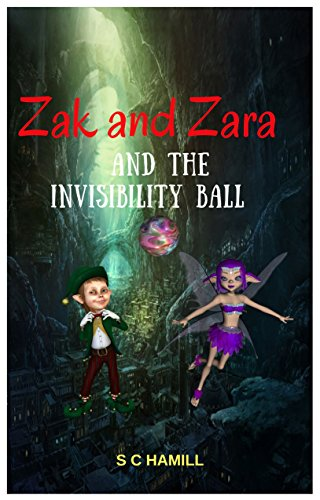 Book: ZAK and ZARA and the INVISIBILITY BALL by S C Hamill