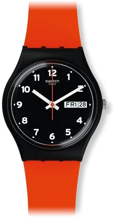 Swatch Unisex analógico de Cuarzo Reloj con Pulsera de Silicona gb754: Swatch: Amazon.es: Relojes