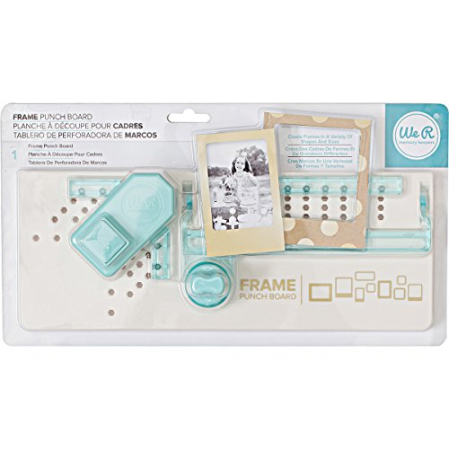 American Crafts Frame Punch Board by We R Memory Keepers - Creating Memories Scrapbooking