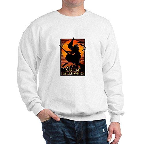 City Of Salem Ma Halloween (CafePress Salem Halloween Sweatshirt Classic Crew Neck Sweatshirt)