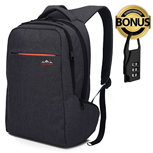 MaxPoint 15.6 inch Tear/Water Resistant Slim Laptop Backpack