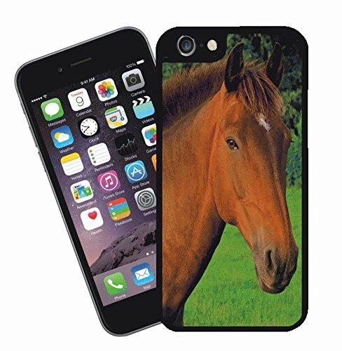 Disegno di cavallo 001 - questa copertura si adatta Apple modello iPhone 6s (6s non plus) - di idee regalo di Eclipse