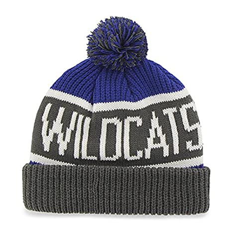 a6492076c878b  47 Brand  47 LSU Tigers Purple Cuff Calgary Beanie Hat with Pom - NCAA  Cuffed Winter Knit Toque Cap  Amazon.co.uk  Sports   Outdoors