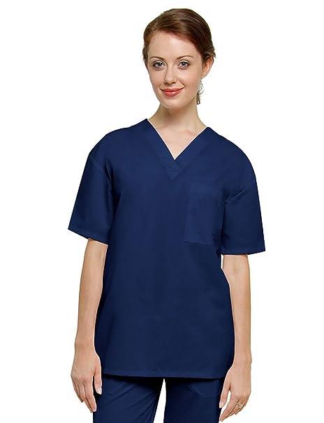 Adar Uniforms Casaca Laboral de Enfermería Unisex: Amazon.es: Ropa y accesorios