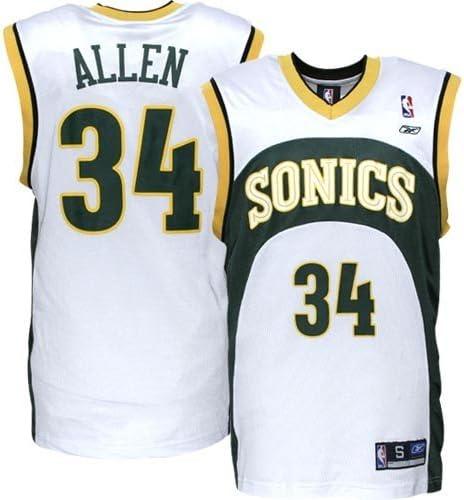 ray allen sonics throwback jersey