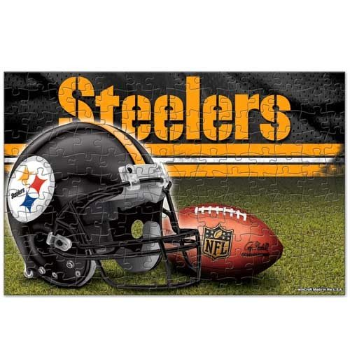 (Wincraft NFL Pittsburgh Steelers Puzzle in Box (150 Piece))