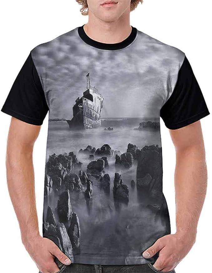 BlountDecor Fashion T-Shirt,New Year Theme Boxes Fashion Personality Customization