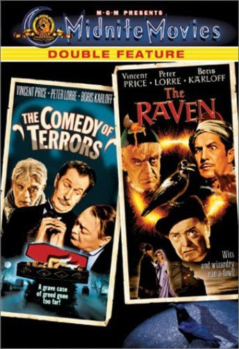 The Comedy of Terrors / The Raven (Midnite Movies Double Feature) -