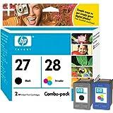 HP C9323BN 27/28 Black/Color Ink Cartridge Combo Pack