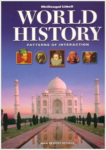 World History: Patterns of Interaction: Roger B. Beck, Linda Black ...