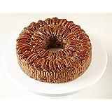 Sliced Medium Texas Blonde Pecan Cake 2 lb. 14 ozs. Collin Street Bakery