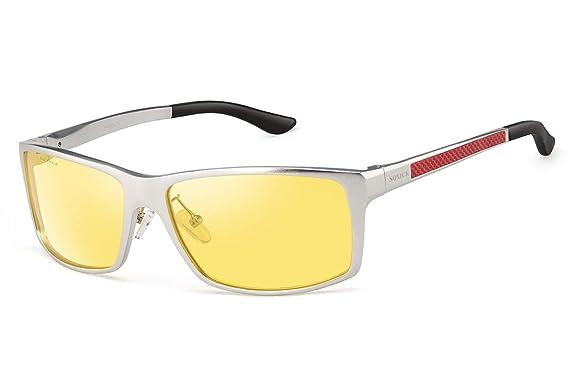 KEESKY Moda gafas de sol polarizadas para hombres o mujeres ...