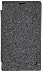 Nillkin Sparkle funda de piel para Microsoft Lumia 532 - negro (embalaje de venta)
