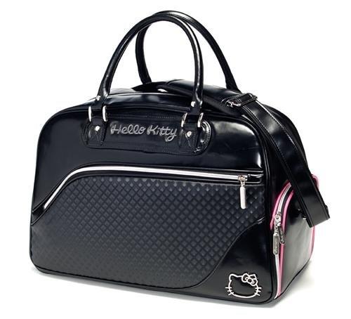 Hello Kitty Couture Boston Bag (Black), Outdoor Stuffs