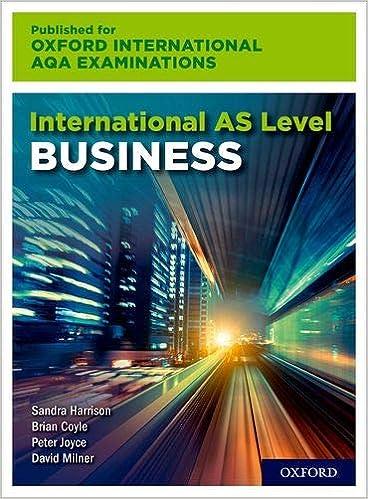 International AS Level Business for Oxford International AQA Examinations - Original PDF