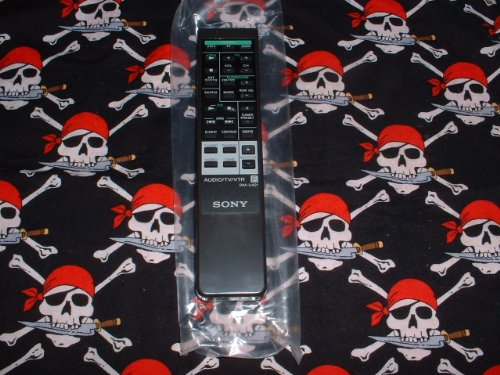 new-sony-audio-system-tv-vtr-remote-control-rm-u421-supplied-with-models-r4200-r4300-sen421cd-sen431