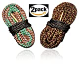 Cobra Bore Snake Combo 45 and 40 Caliber 2 Pack - Clean Your Barrel Fast and Easy By Bore Snakes