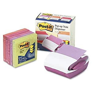 Post-it Pop-up Notes Dispenser with 6-pack of Post-it(R) Pop-up Notes, 3 x 3 Inch (PRO330-FE-O)