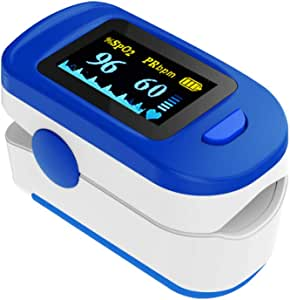 Wellue Health Monitor with Batteries & Lanyard for Wellness Use