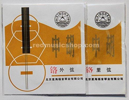 Per Set Xinghai Zhonghu Strings,stranded Steel Core Chromium Wound