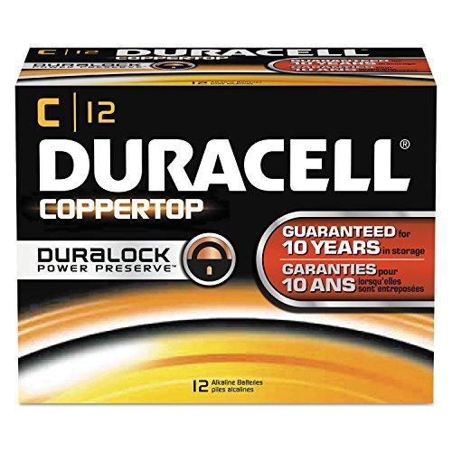 12 Duracell DuraLock C MN1400 Alkaline Battery EXP 2022 USA