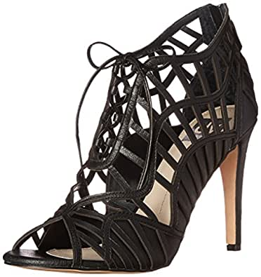 DV by Dolce Vita Women's Timba Dress Sandal, Black, 10 M US