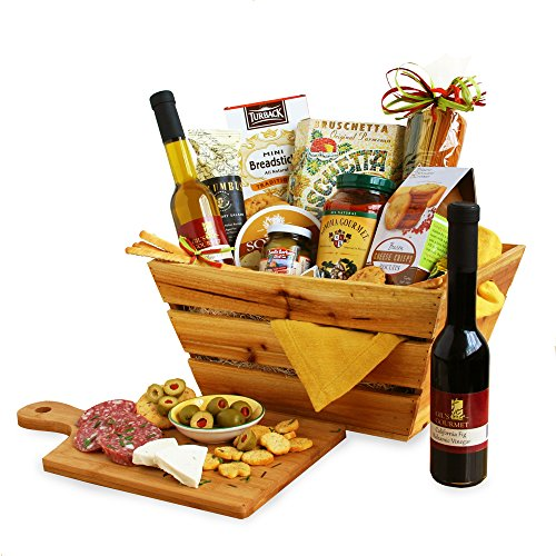 California Delicious Italian Style Gourmet Gift (Gourmet Cooking Gift Baskets)