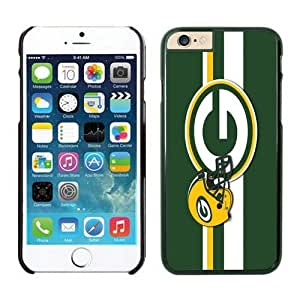 NFL&Green Bay Packers iPhone 6 Cases 33 Black 4.7 inches_75560 Gift Holiday Christmas Gifts cell phone cases clear phone cases protectivefashion cell phone cases HLNA605584850