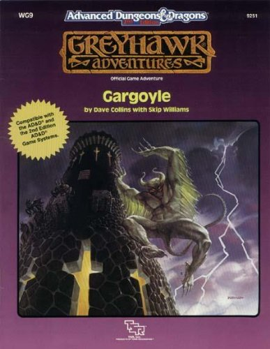Gargoyle (Advanced Dungeons & Dragons/Greyhawk Adventures module WG9)