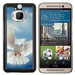 "Be-Star Único Patrón Plástico Duro Fundas Cover Cubre Hard Case Cover Para HTC One M9+ / M9 Plus (Not M9) ( Pájaro Paloma Alas Flying Sky Dios Esperanza"" )"