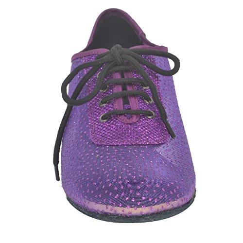 Jig Foo Latin Salsa Rumba Chacha Practice Ballroom Dance Shoes for Women cnvt2MMCy