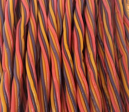 (CrazyOutlet Pack - Twizzlers Fruit Punch Pull 'n' Peel Licorice Candy Ropes, Bulk Pack, 3 lbs)