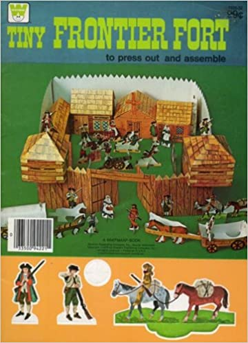 Amazon.com: tiny FRONTIER FORT: to press out and assemble: A ...