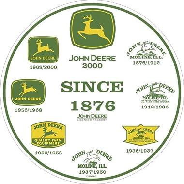 John Deere Round Sign, History of Logos