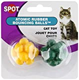 Ethical Atomic Bouncing Ball Cat Toy - 2-Piece (colors may vary)