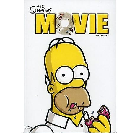 The Simpsons Movie Widescreen Edition Amazon Ca David Silverman Books