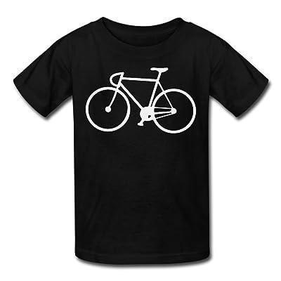 Hailin Tattoo Boys Girls Tshirt Fixed Gear Bicycle Printed Modern