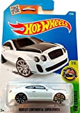 Hot Wheels, 2016 HW Exotics, Bentley Continential Supersports [White] 77/250
